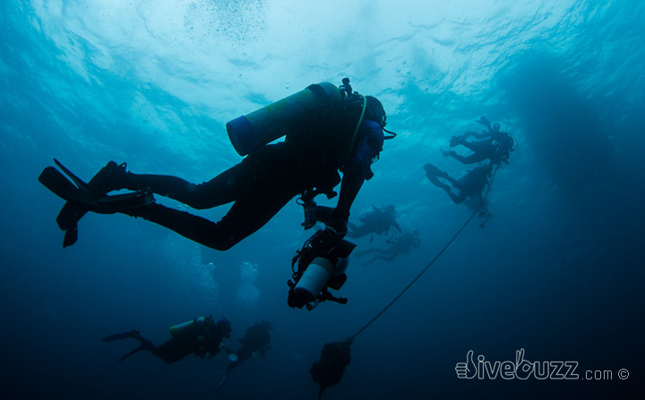 Panic in the experienced diver