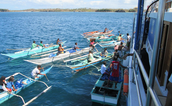 Dive community contributes to Philippines relief effort